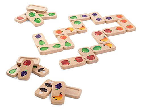 PlanToys Fruit and Veggie Domino