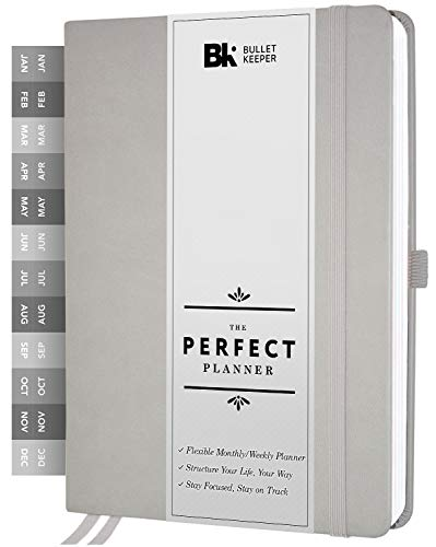 The Perfect Planner by BK. Undated Planner for 2021 or Any Year! Weekly &...