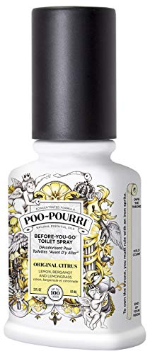 Poo-Pourri Before-You-Go Toilet Spray 2-Ounce Bottle, Original (PP-002)