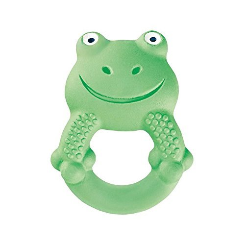 MAM Baby Toys, Teething Toys, Max The Frog 100% Natural Rubber...