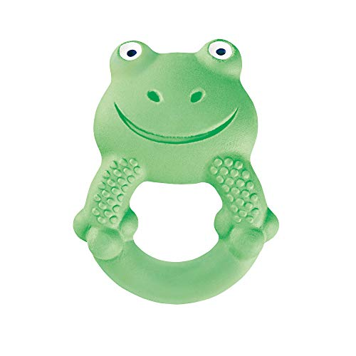 MAM 'Friends' Collection Teething Toys, Max The Frog 100% Natural Rubber...