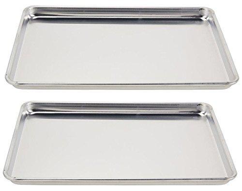 Vollrath (5303) Wear-Ever Half-Size Sheet Pans, Set of 2 (18-Inch x 13-Inch...