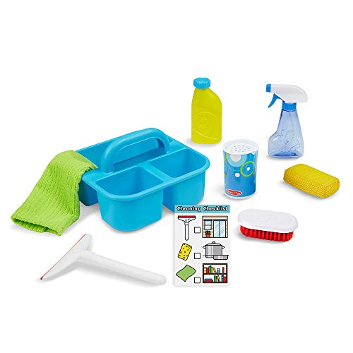 Melissa & Doug Spray, Squirt & Squeegee Play Set (Pretend Play Cleaning...