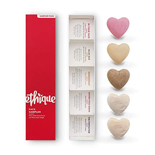 Ethique Eco-Friendly Face Sampler- 5 Piece Sustainable Natural Beauty Bar...
