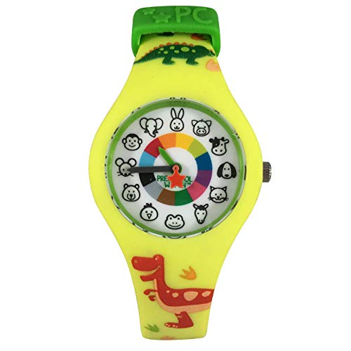 Dinosaur Preschool Watch - The Only Analog Kids Watch Preschoolers...