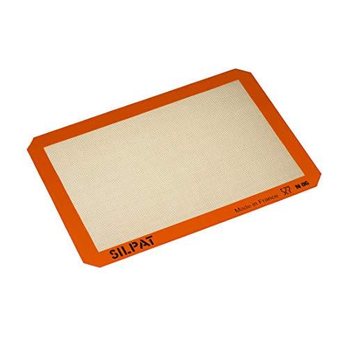 Silpat Premium Non-Stick Silicone Baking Mat, Half Sheet Size, 11-5/8 x...