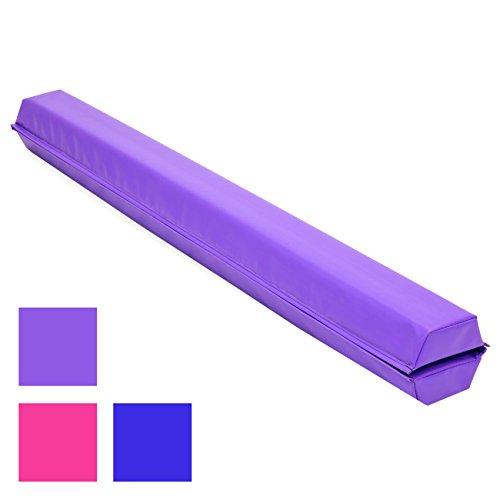 Best Choice Products 9ft Folding Medium-Density Foam Floor Balance Beam for...