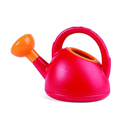 Hape Sand and Beach Toy Watering Can Toys, Red, L: 8.5, W: 5.7, H: 4.9 inch