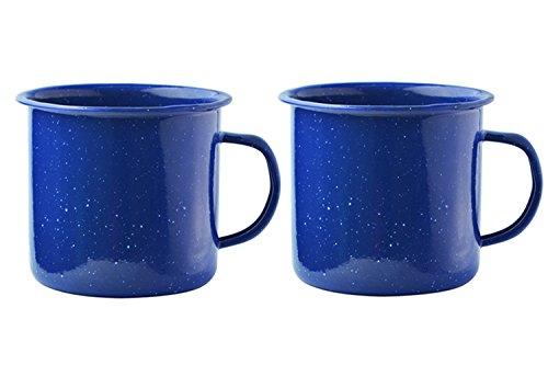 Asobu Happy Trails Classic Country Camper Coffee and Tea Mug Pack of 2...