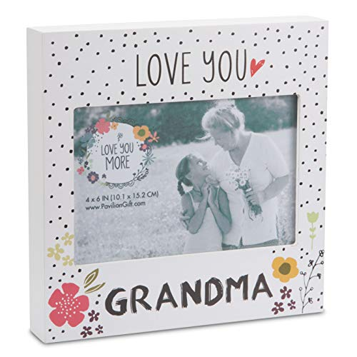 Pavilion Gift Company Grandma Floral Self Standing Picture Frame