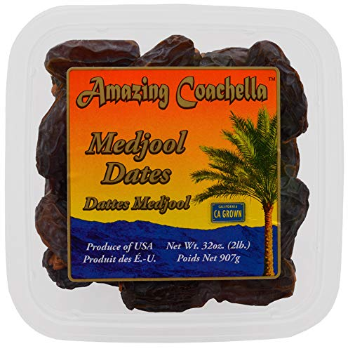 Amazing Coachella Medjool Dates, 2 Pounds