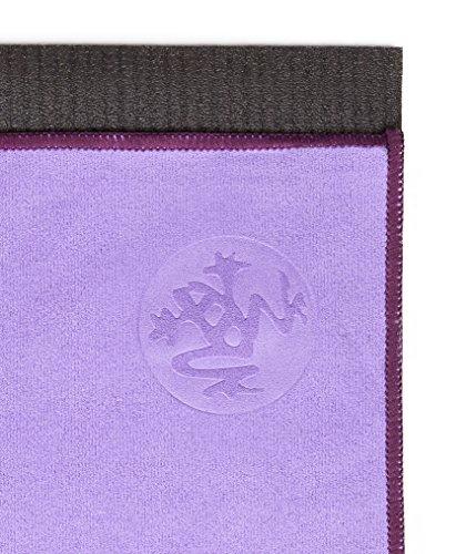 Manduka eQua Quick Drying Absorbent Micro Fiber Non-Slip Yoga Hand Towel,...