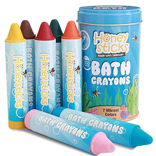 Honeysticks Bath Crayons for Toddlers & Kids - Handmade from Natural...