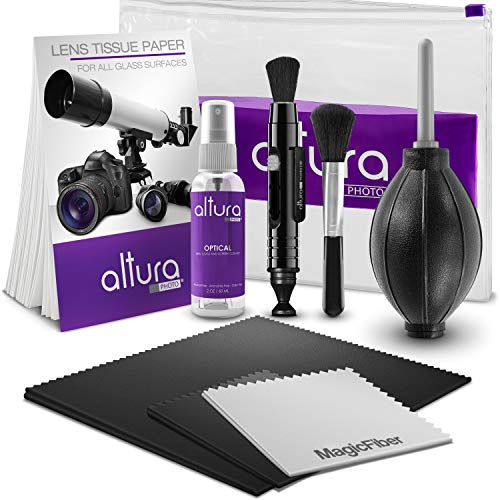 Altura Photo Professional Cleaning Kit for DSLR Cameras and Sensitive...