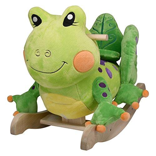 Rockabye Fergie Frog Rocker, One Size