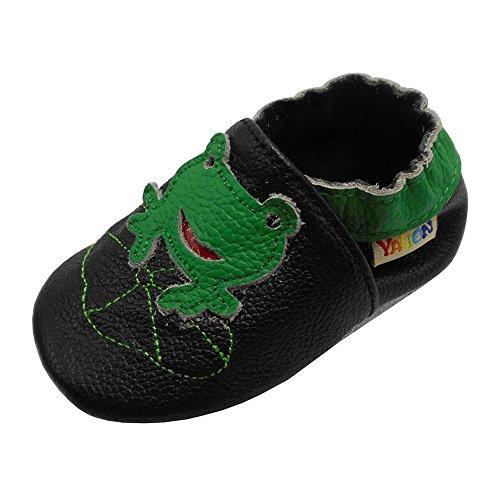 YALION Baby Boys Girls Shoes Crawling Slipper Toddler Infant Soft Leather...