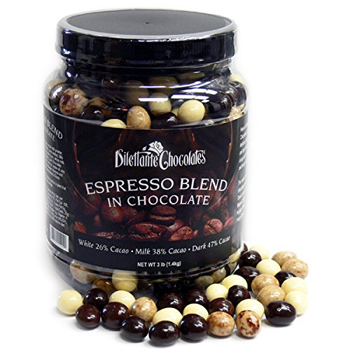 Chocolate Covered Espresso Bean Blend Jar   Made with All-Natural...