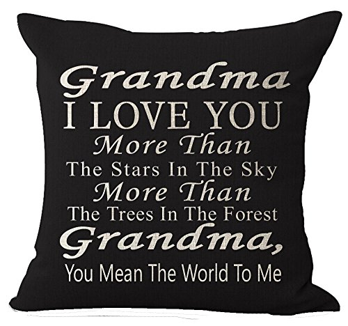 Best Gift Grandma I Love You More Than The Stars in The Sky You Mean The...