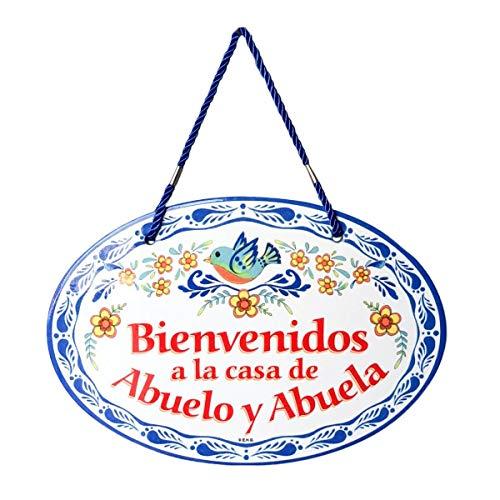Essence of Europe Gifts E.H.G Bienvenidos a la Casa de Abuelo y Abuela...