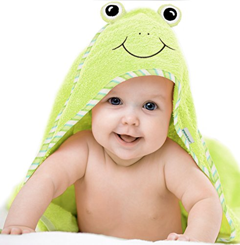Cute Hooded Towel, Large, Thick, 100% Cotton, Baby Shower Gifts, Grayson...