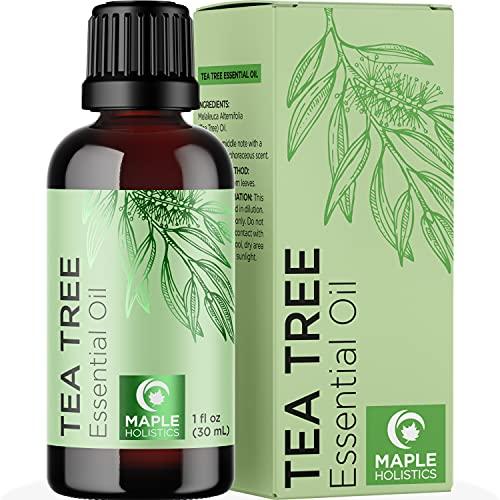 Pure Tea Tree Essential Oil - Pure Australian Tea Tree Oil for Hair Skin...