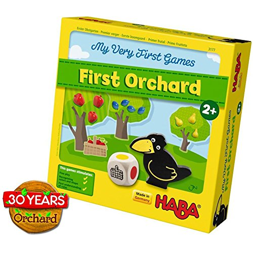 HABA My Very First Games - First Orchard Cooperative Game Celebrating 30...