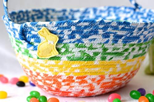 Boy Easter Basket, Handmade by Wexford Treasures, Kid's Room Basket, Cute...