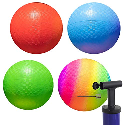 Playground Balls 10 inch Dodgeball - Kickball for Boys Girls Kids Adults -...