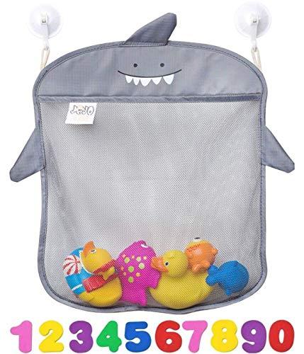 JOJOOKIDS Bath Toy Storage Set of 2 + 10 Eco-Safe Foam Numbers | Bath Toy...