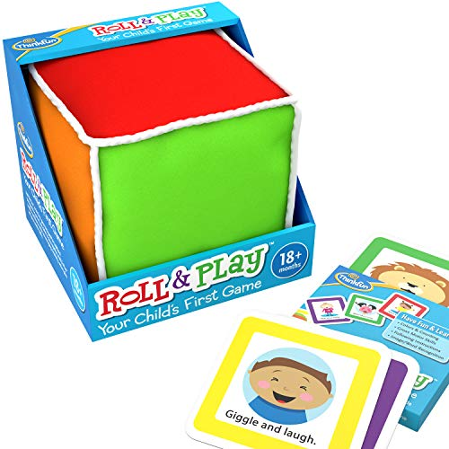 ThinkFun Roll and Play Game for Toddlers - Your Child's First Game! Award...