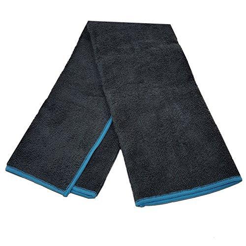Yoga Mate Soft, Sweat Absorbent, Non-Slip Bikram Yoga Hand Towel, Gray |...