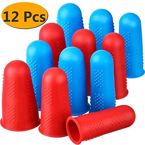 Silicone Finger Protectors 12 Pieces Finger Protectors Hot Glue Gun Finger...