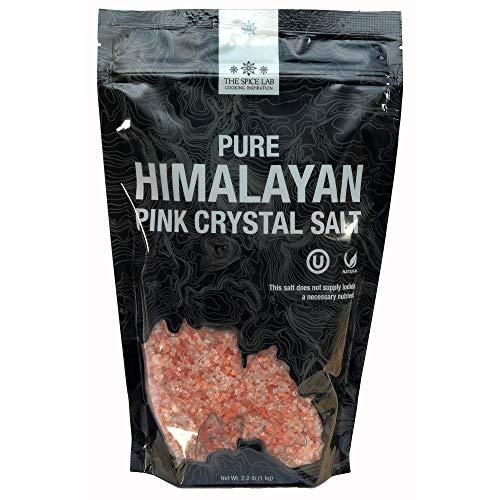 The Spice Lab Himalayan Salt - Coarse 2.2 Lb / 1 Kilo - Pink Himalayan Salt...