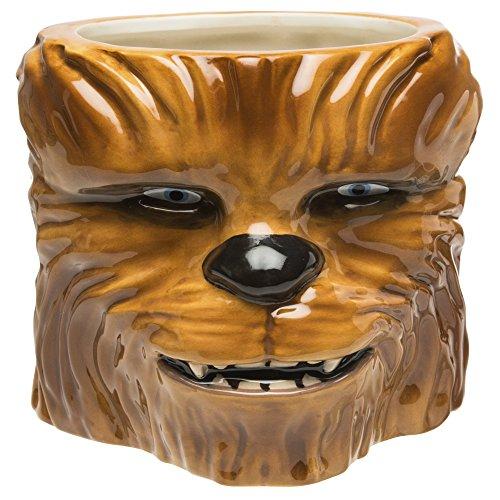 Zak Designs Star Wars Ep4 Chewbacca Unique 3D Character Sculpted Ceramic...