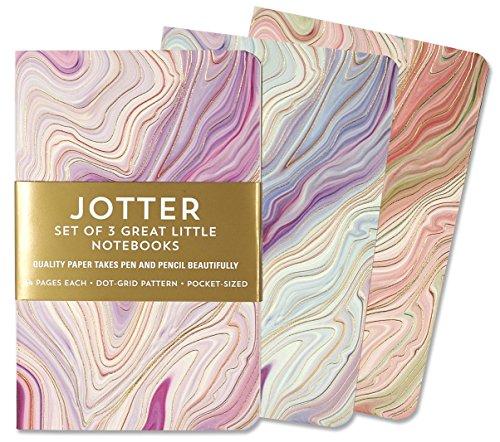 Jotter Mini Notebooks for Bullet Journaling -- Agate (3-Pack) (Interior...