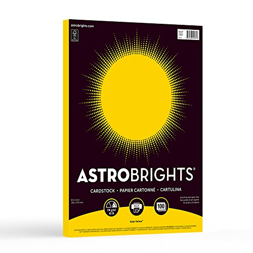 Astrobrights Colored Cardstock (20931-01)