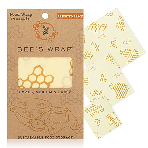 Bee's Wrap – Assorted Set of 3 – Certified B Corporation – No...