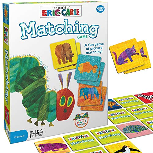 Wonder Forge Eric Carle Matching Game For Boys & Girls Age 3 To 5 - A Fun &...