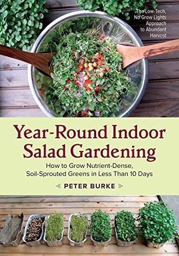 Year-Round Indoor Salad Gardening: How to Grow Nutrient-Dense,...