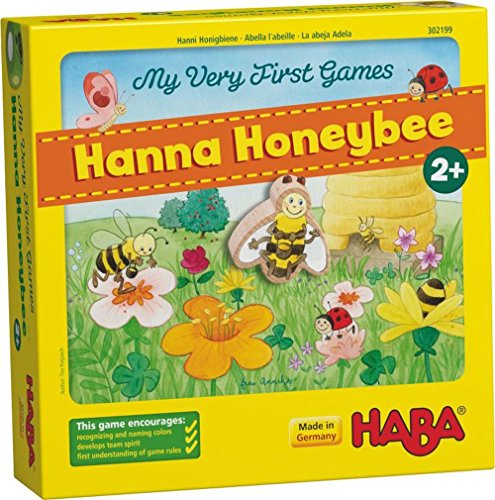 HABA My Very First Games Hanna Honeybee - 2 Cooperative Color Die Games...