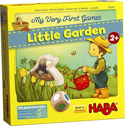 HABA My Very First Games Little Garden - Cooperative Board Game for Ages 2...