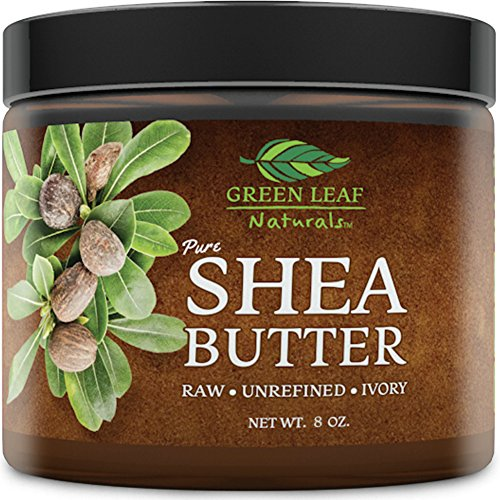 African Shea Butter - Raw Unrefined - 100% Pure for Hair and Skin - Smooth...