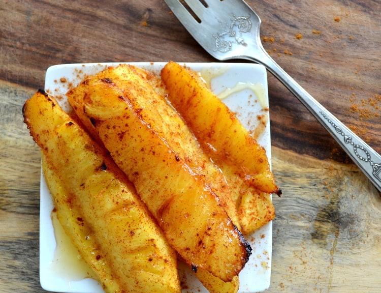 Honey Roasted Pineapple