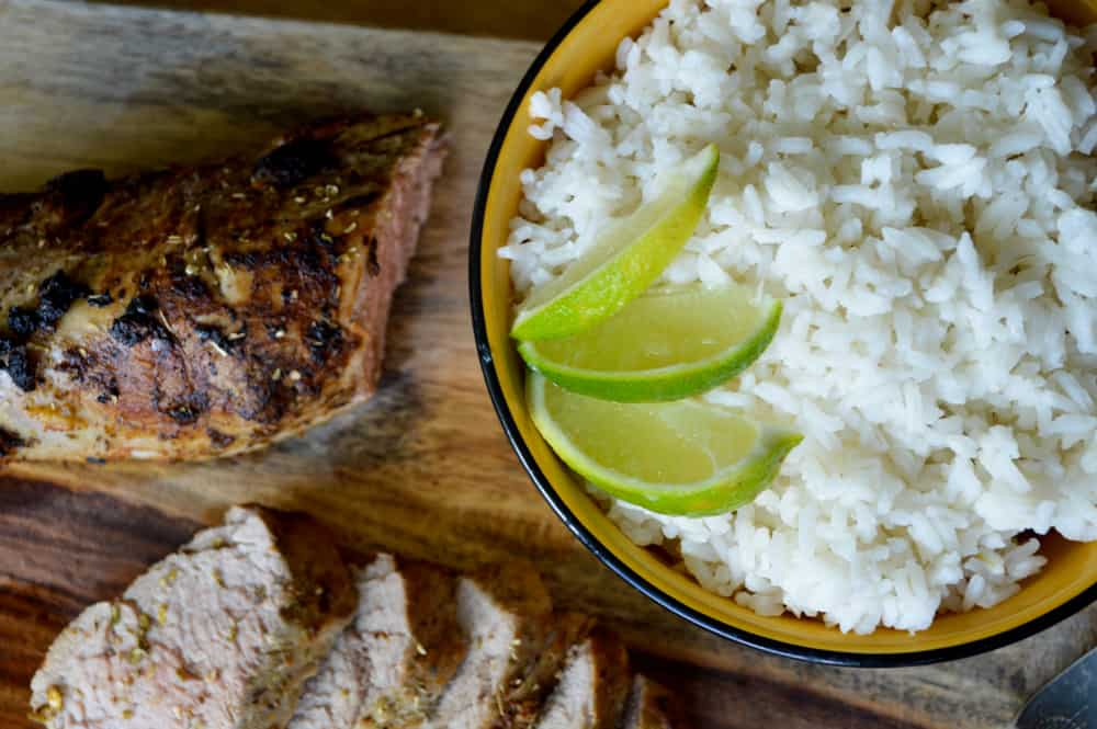 Rice with Lime