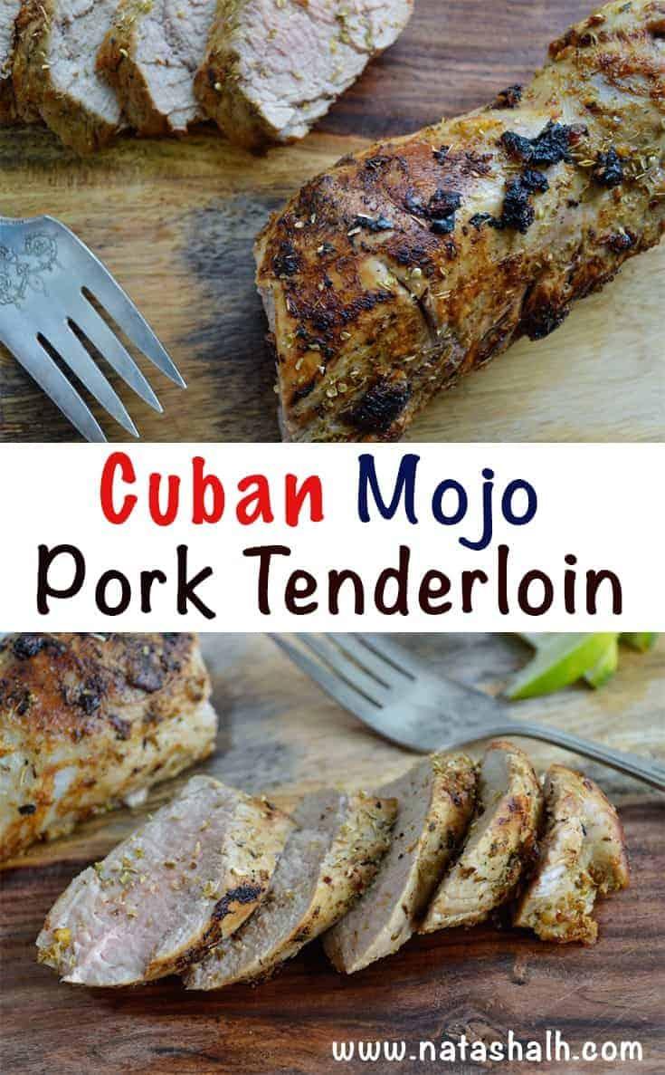 Oven Roasted Cuban-Style Mojo Pork Tenderloin