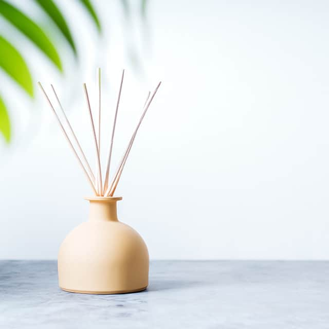 homemade reed diffuser for essential oils