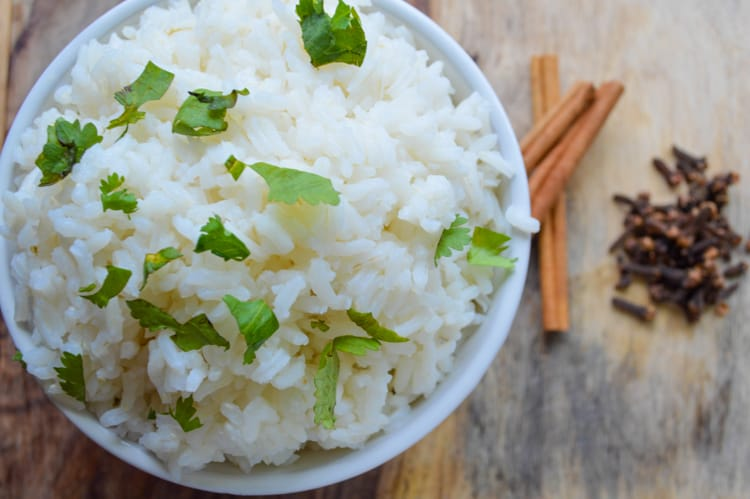 rice with parsley