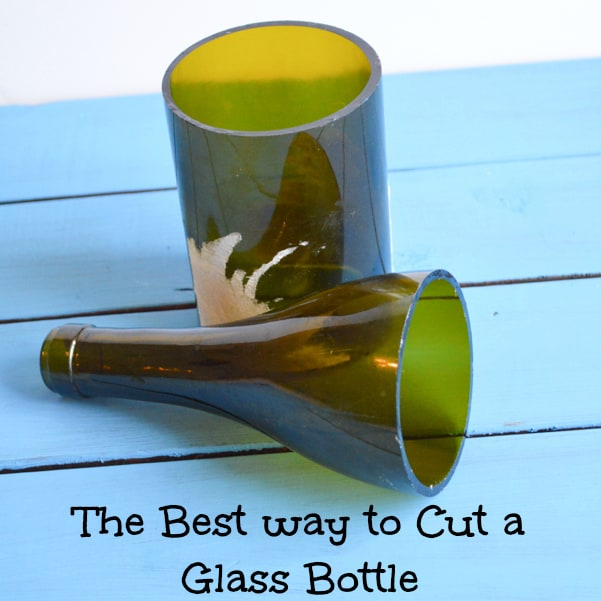 How to cut glass bottles the best way for Cutting glass bottles with string