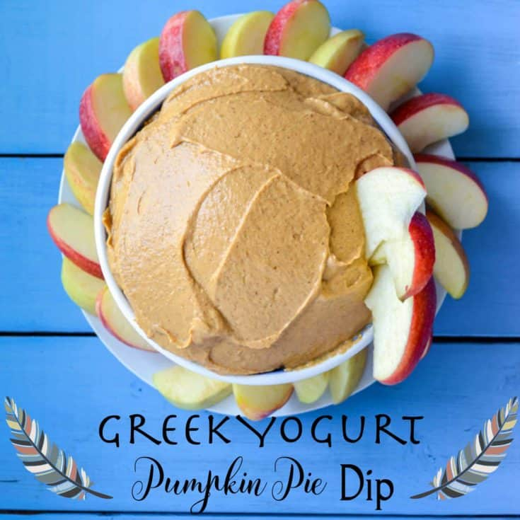 Greek Yogurt Pumpkin Pie Spice Fruit Dip