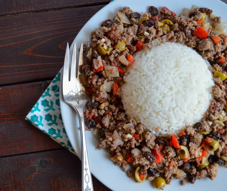 Healthy Picadillo Recipe: Cuban-Inspired Ground Deer Recipe